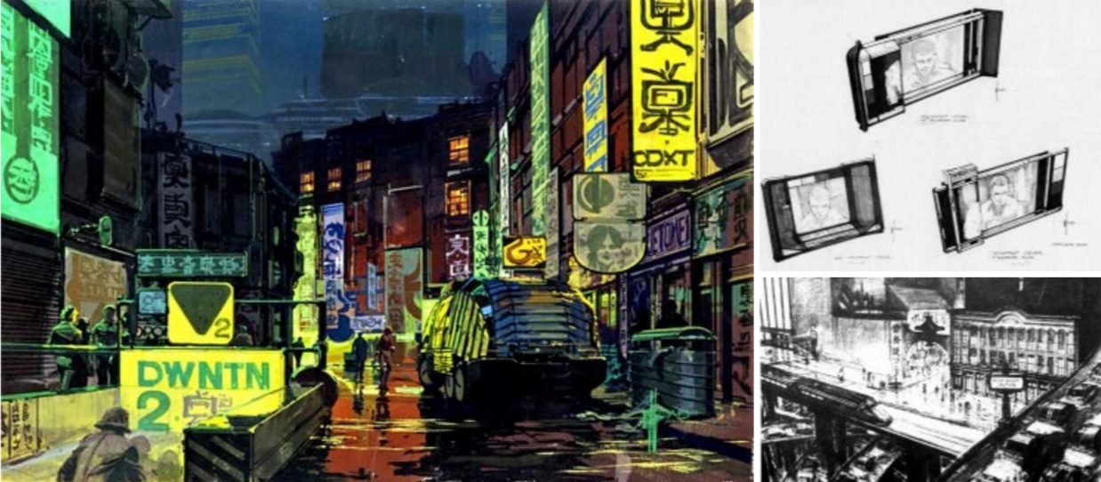 The Art Of Blade Runner : Original Matte Paintings and Sketches
